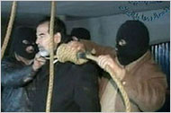 Saddam meets the hangman