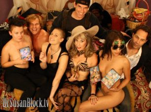 Porn Charlie Sheen Masturbation Month Orgy on DrSusanBlock.tv