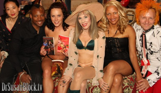 With Cyn, Alexander Devoe, Katie St. Ives, Honey B and Stan Kent.  Photo: Mike C