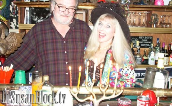 Happy Horny Hanukkah from Dr. Suzy, Prince Max & the Bonobo Gang :)