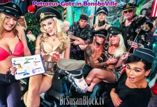 Petraeus-Gate in BonoboVille: Centaur Sex, Military Fetishists & DNA Exploding Everywhere!