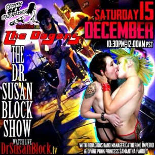 Holiday Lights, Catfights & the Bill of Rights this Saturday on DrSuzy.tv + Phone Sex Therapy Anytime You Need It ♥