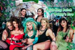 Squirt Salon #36: A Squirting Saint Patty's Eve!