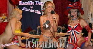 Sexy Bastille Day, Wonder Woman, D.A.D., Power Plays & Trump Resistance on DrSuzy.Tv + Phone Sex Therapy 24/7
