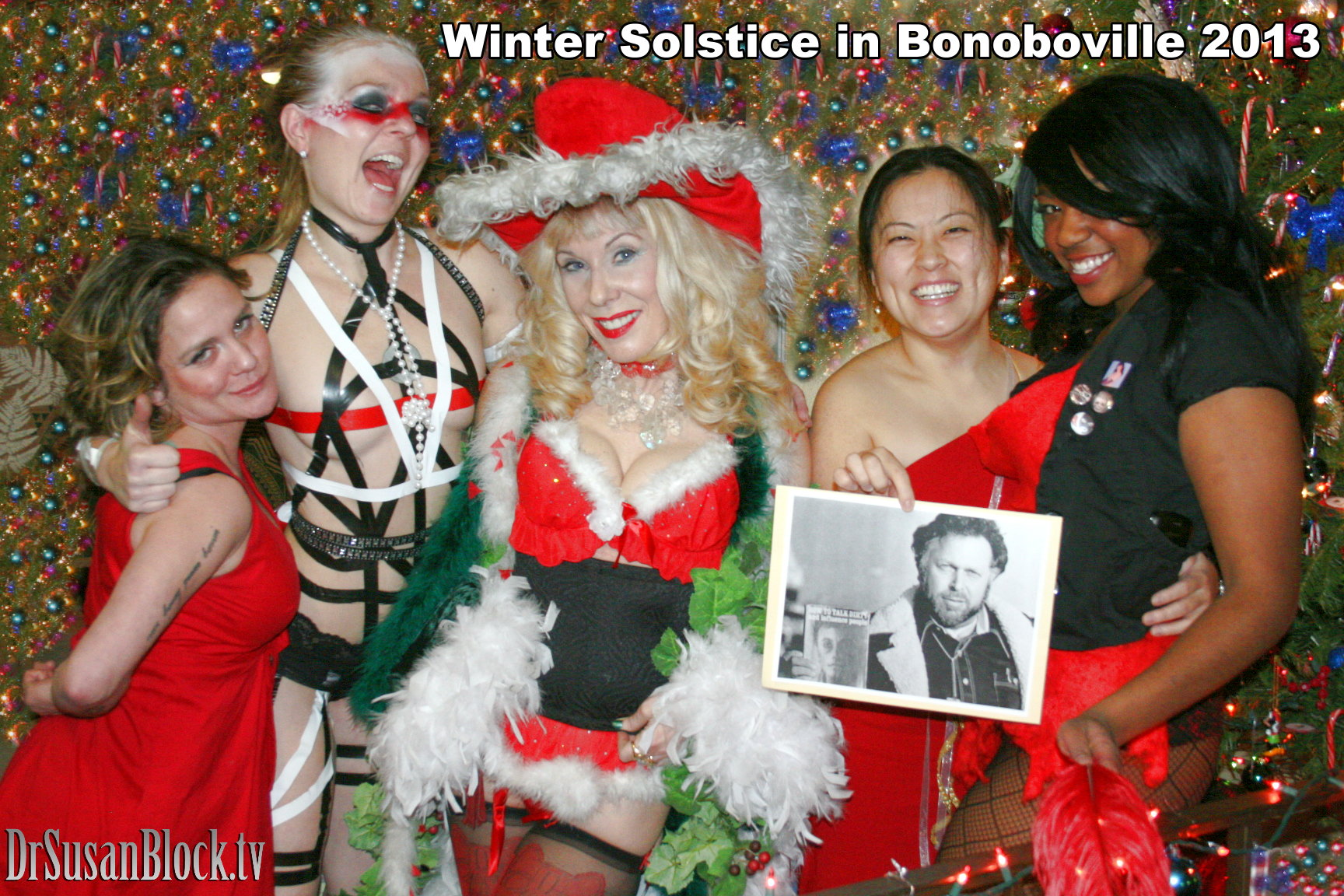 WiNTER SOLSTiCE in BONOBOVILLE: Poledancing Angel, Baby Jesus Butt Plug, Youtube Victory & RIP AL GOLDSTEIN