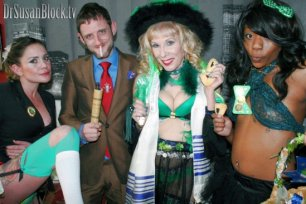 Purim & St. Patty's with Luzer Twersky & the Bonobo Gang :)