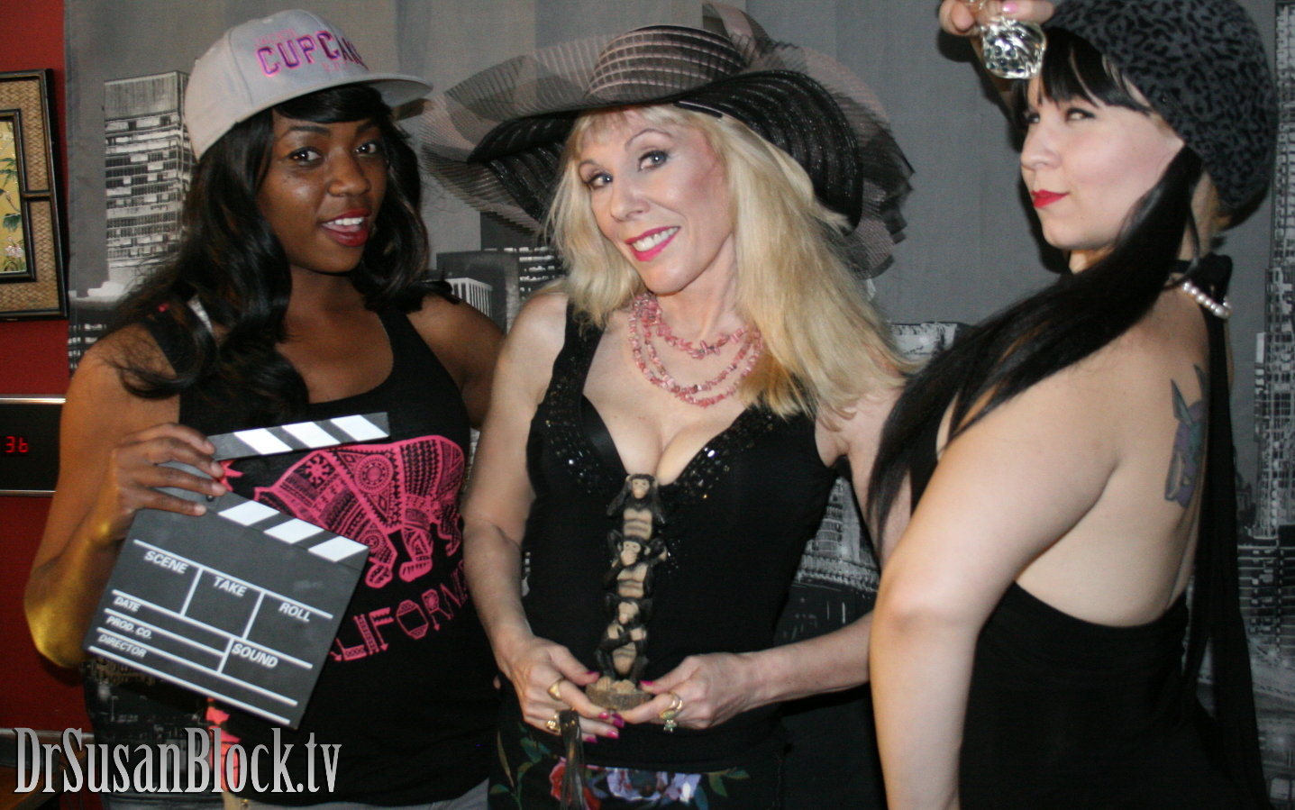 Trixie Plenty, Dr. Suzy and Pandora.  Photo: L'erotique