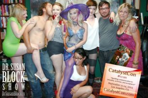 CatalystCon Vixen Snow Show on DrSuzy.Tv!