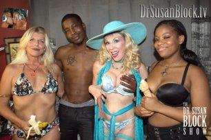 """Kiss & Make Up"" Night on DrSuzy.Tv with Isiah & Monique"