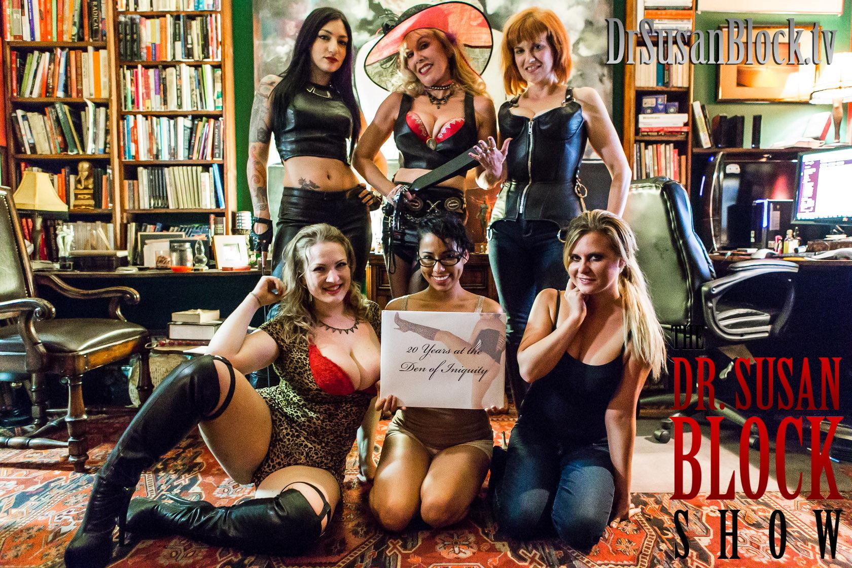 Den of Iniquity 20th Anniversary: Female Domination Celebration on DrSuzy.Tv !