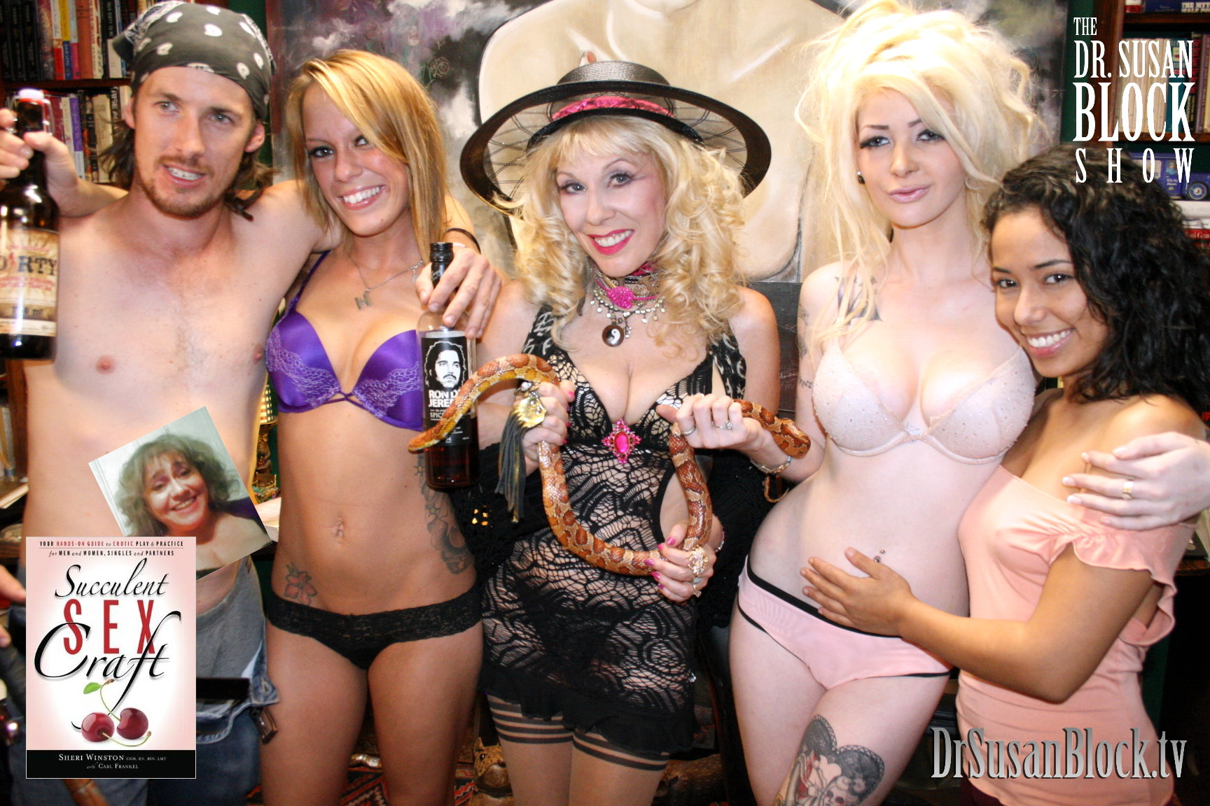 """""""Succulent Sex Craft,"""" Amor and More on DrSuzy.Tv"""