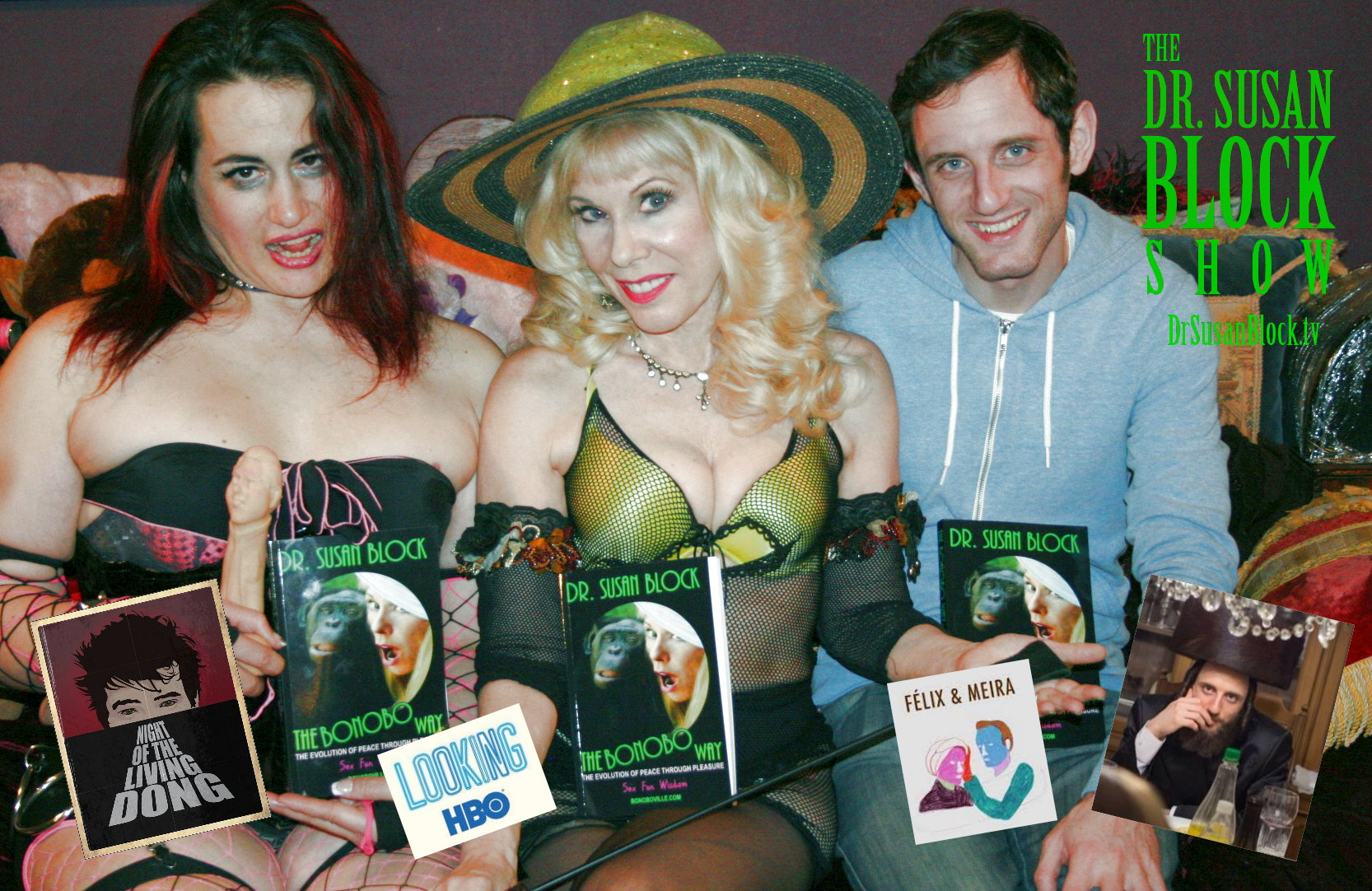 Winner Luzer & Der Baroness on DrSuzy.Tv
