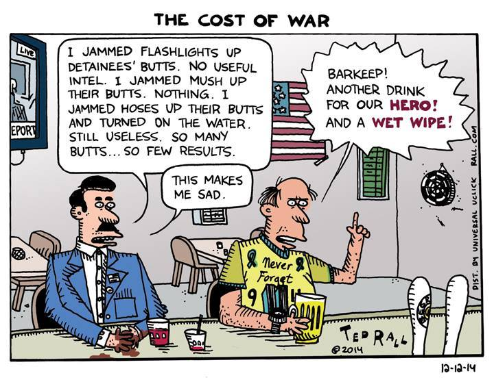 Thanks, Michael Donnelly, for this on-point Ted Rall comic.