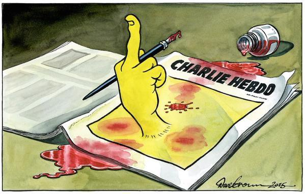 #JeSuisCharlie is the Bonobo Way