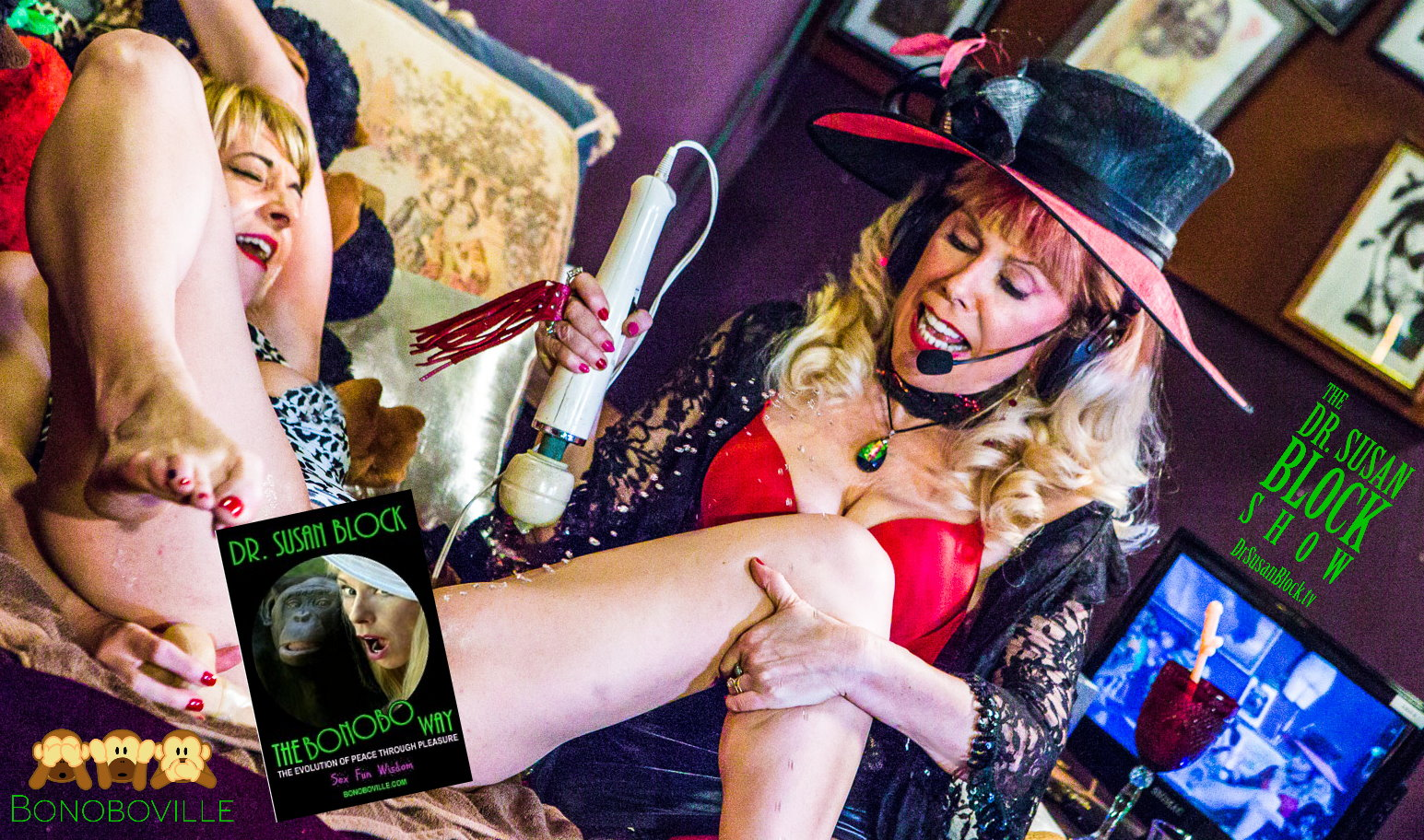 50 Shades of Sex Ed in a Circus of Spanking, Squirting and LoVE