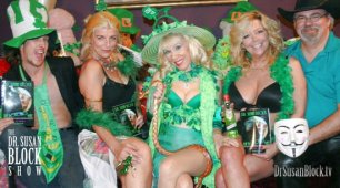 "Karen Summer Celebrates Spring, St. Paddy's and ""Steak & Blowjob Day""on DrSuzy.Tv"