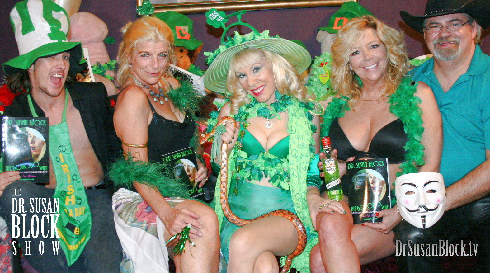 "Karen Summer Celebrates Spring, St. Paddy's and ""Steak & Blowjob Day""on DrSuzy.Tv"