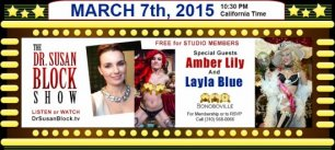 Live Show Saturday with Amber & Layla! Phone Sex Therapy 24/7 ❤ And get ready for The BONOBO SPRING Revolution…