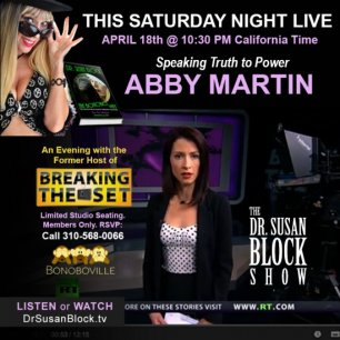 Abby Martin this Saturday & The Bonobo Way Daily!