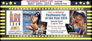 Penthouse Pet of the Year, FE Floods the Media, EcoSex Coming & The Bonobo Way Evolving