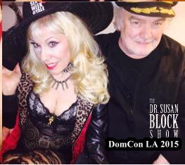 Doing Dom Con with Capt'n Max. Photo: Soma