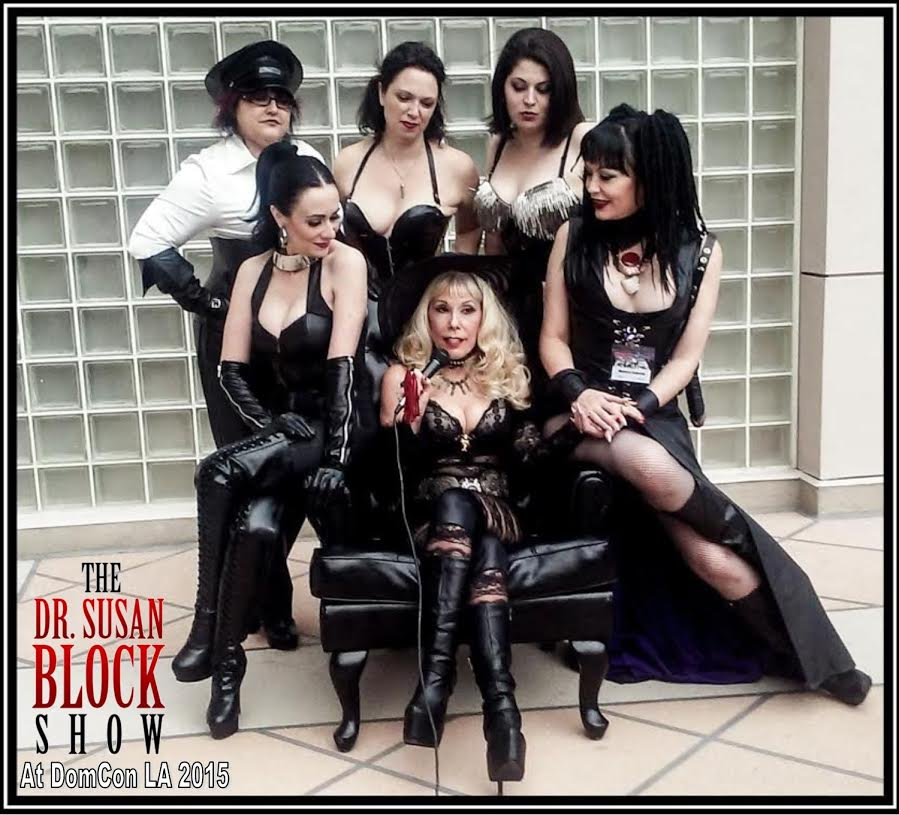 With More Hot Dommes at DomCon 20015 on HIlton LAX Roof. Photo: Del Rey