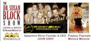 Spearmint Rhino Saturday + EcoSex, Burlesque & Bonobo Gay Pride :)
