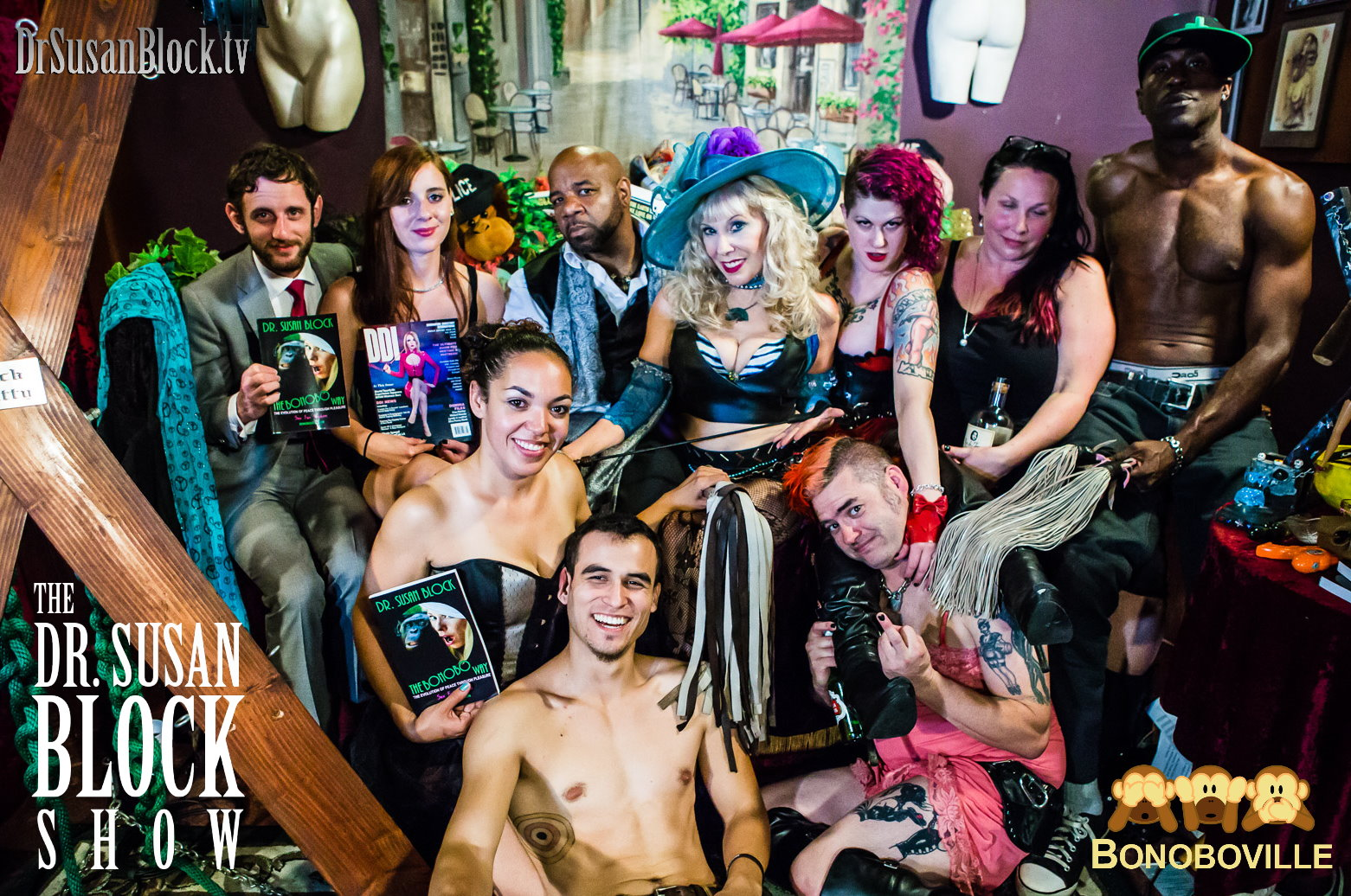 BDSM THEATER with Domination Superstars Orpheus Black, Goddess Soma, Fat Mike in My Slip, Audrey Holiday & MORE!
