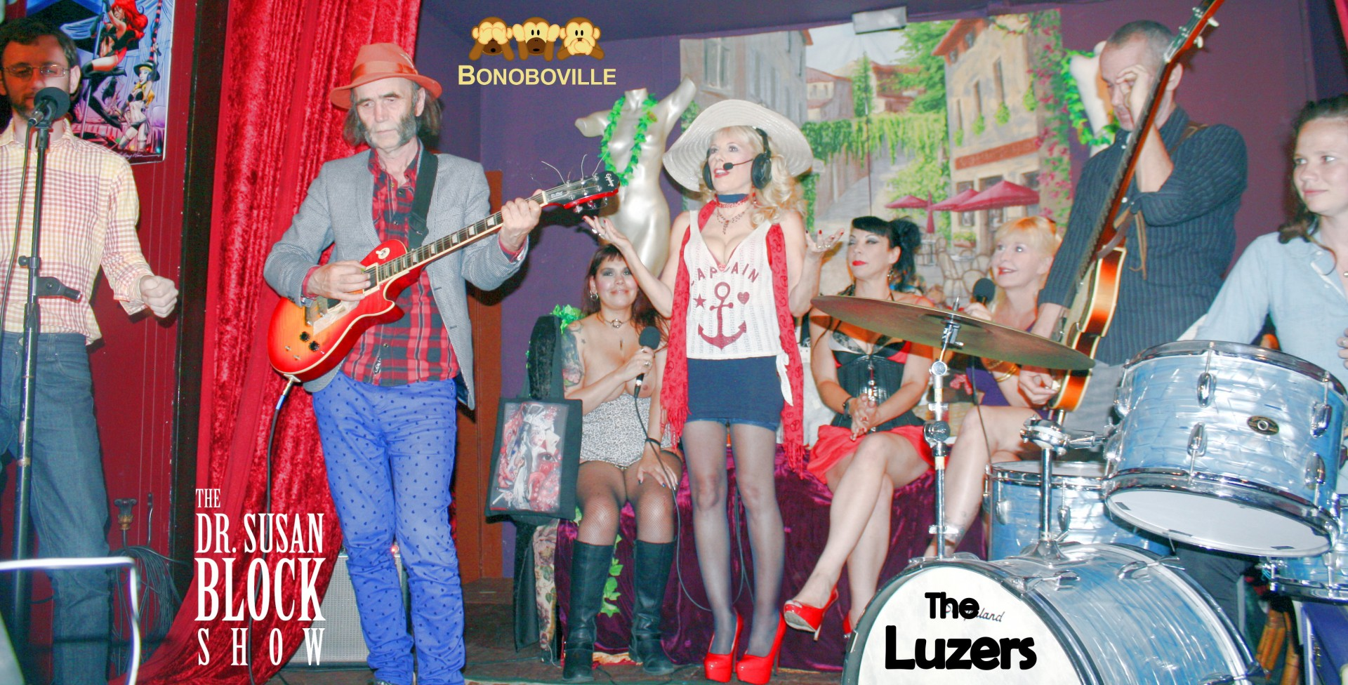 Introducing The LUZERS LiVE from Bonoboville! Photo: Hollywood Jake