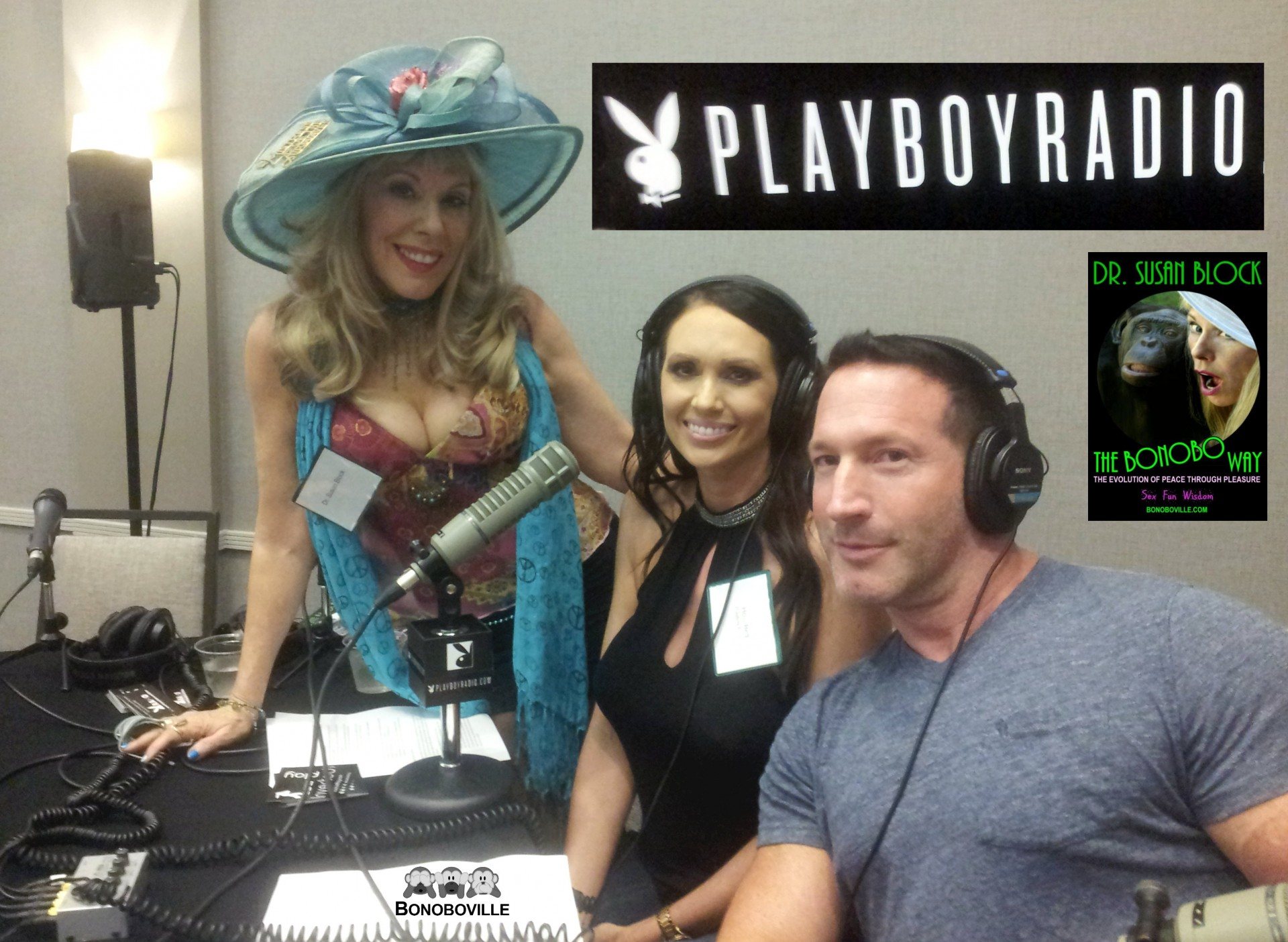 Playboy, Emmys & a 9/11 Mission of Peace through Pleasure for The Bonobo Way!