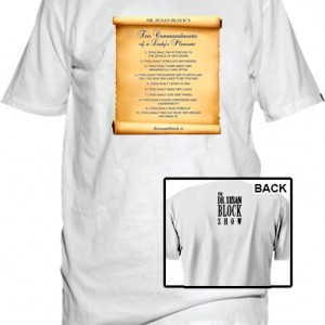 10-Commandments-Ladys-White-T-Shirt-Display