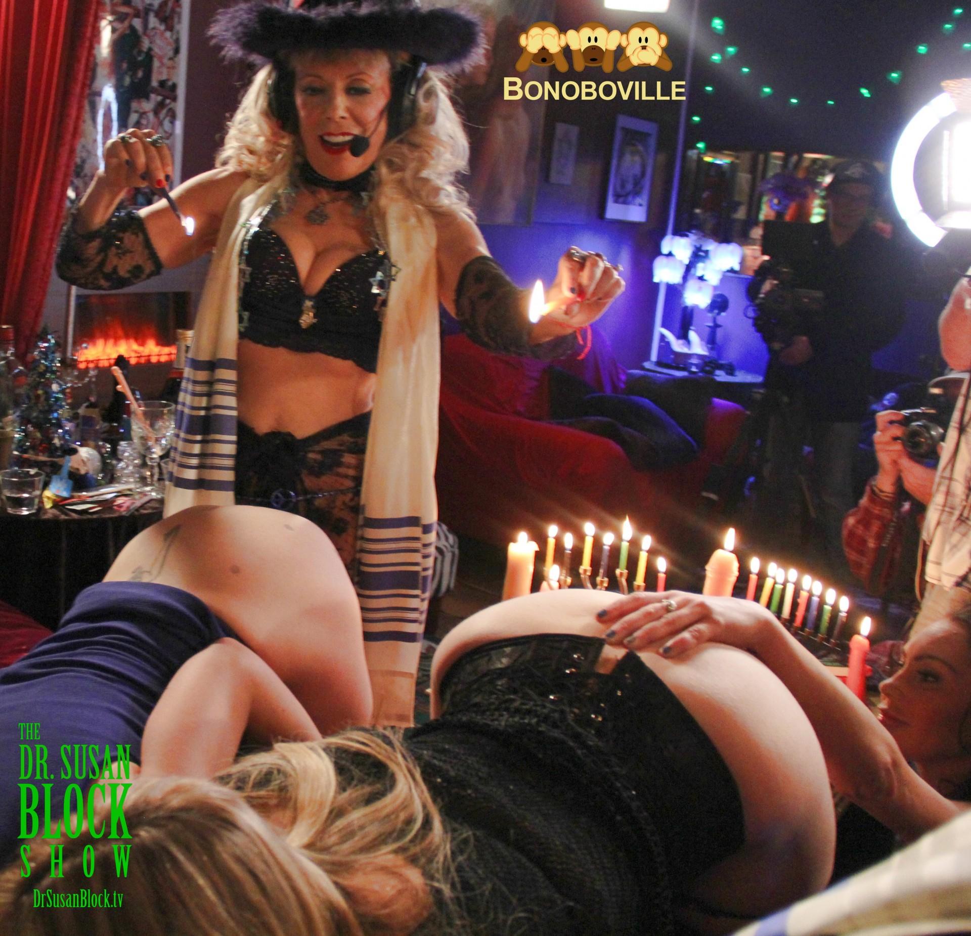 Hot Wax Hanukkah in Bonoboville