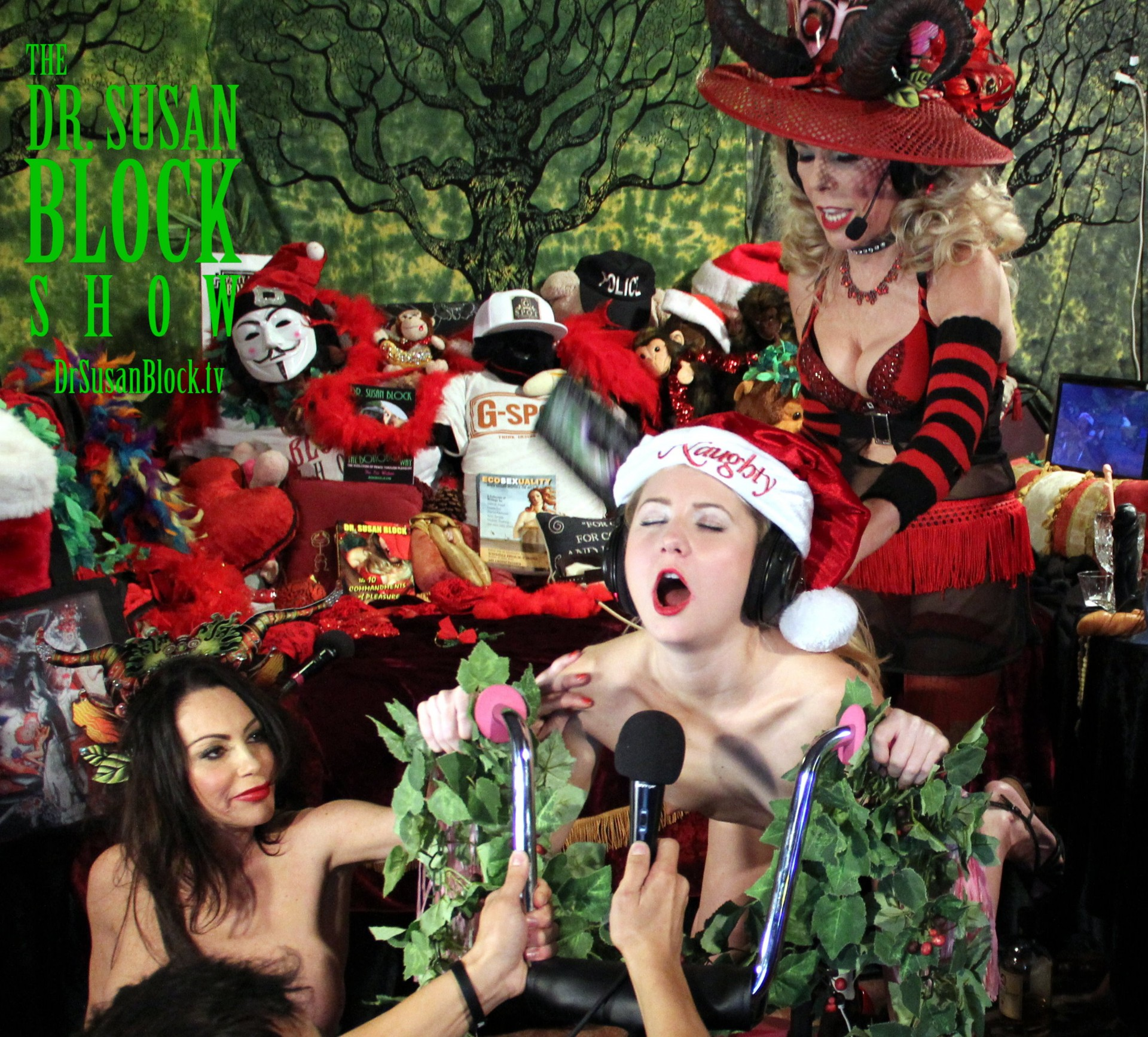 Kinky Krampus with Odette on DrSuzy.Tv