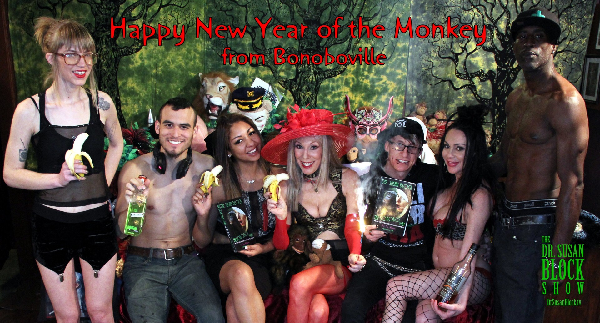 Go Bonobos in the Year of the Monkey! Photo: Unscene Abe