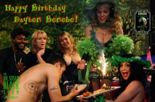 Dayton Rains' #GreenBirthday Bacchanalia on DrSuzy.Tv