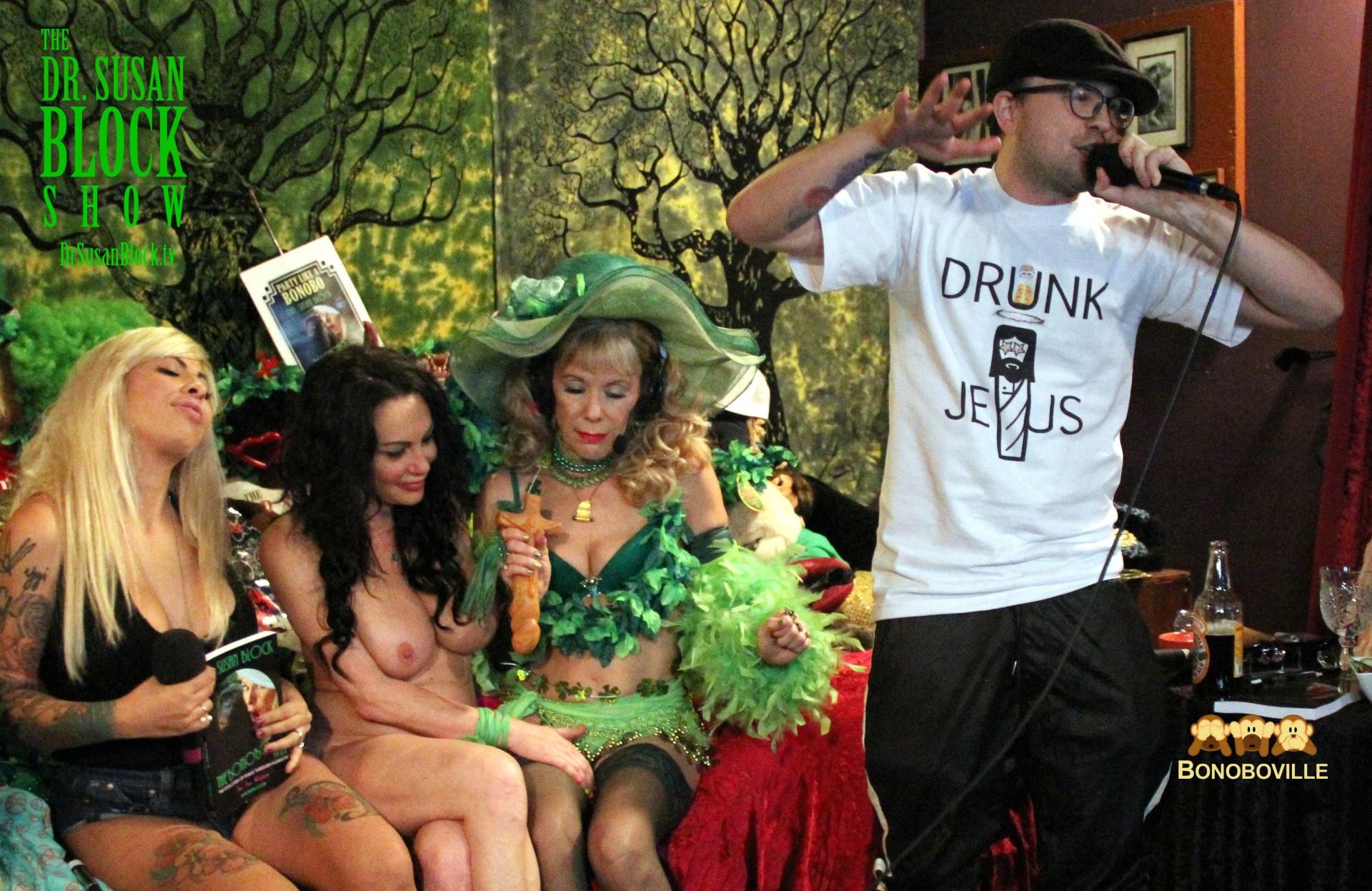"Me$$ed Up does ""Drunk Jesus."" Photo: Ono Bo"
