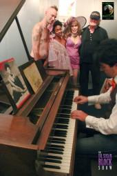 Nori on piano