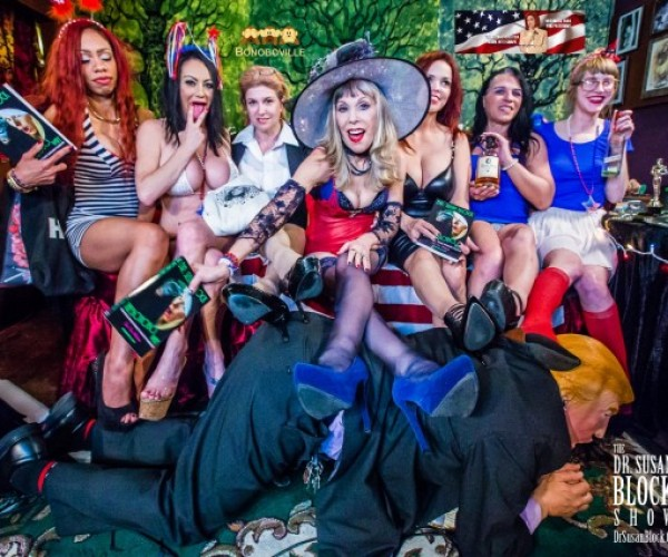 A Smoking, Spanking Hot DOMCON 2016 Afterparty & Masturbation Month Climax with Trump-Beating U.S. Presidential Candidate Mistress Tara Indiana, FemDoms, Fandoms, Friends & Lovers