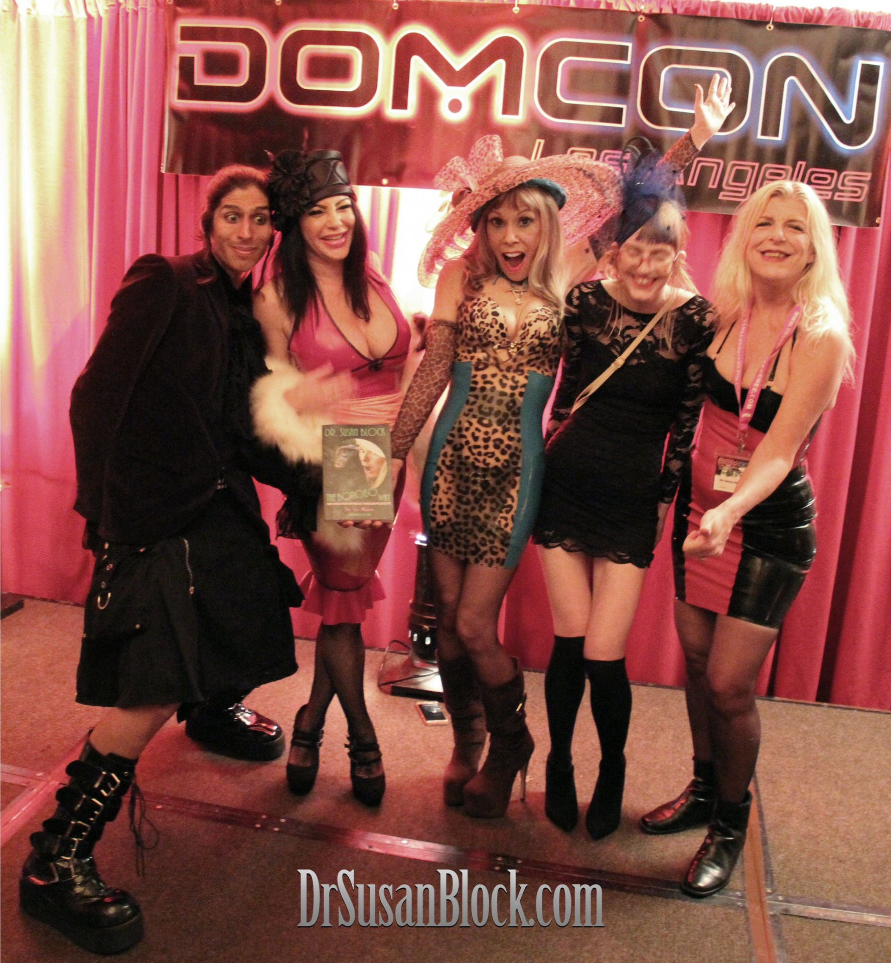 The Bonobo Way at DomCon LA. Photo: Unscene Abe