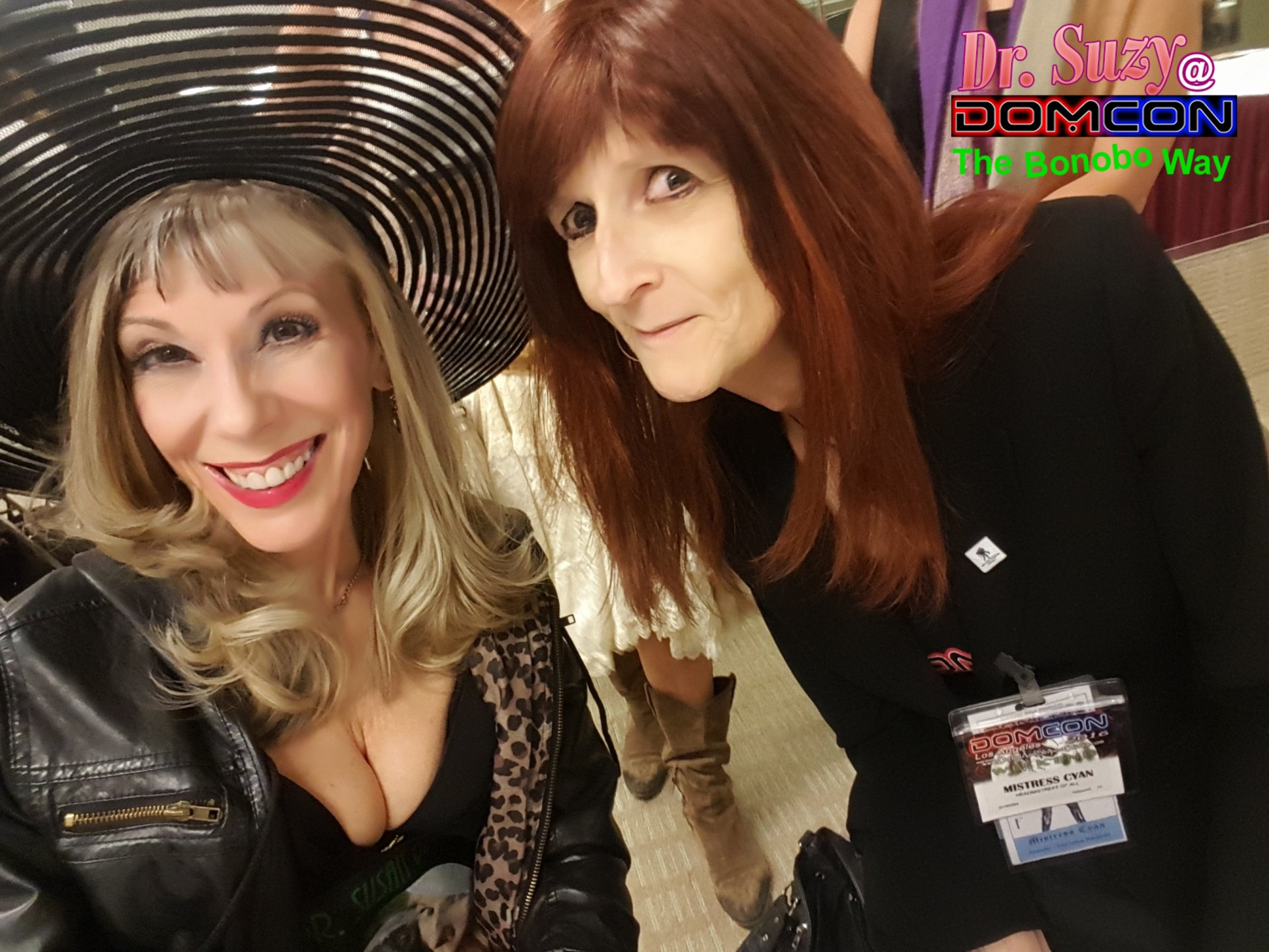 With DomCon Headmistress Cyan at the Mistress Tea
