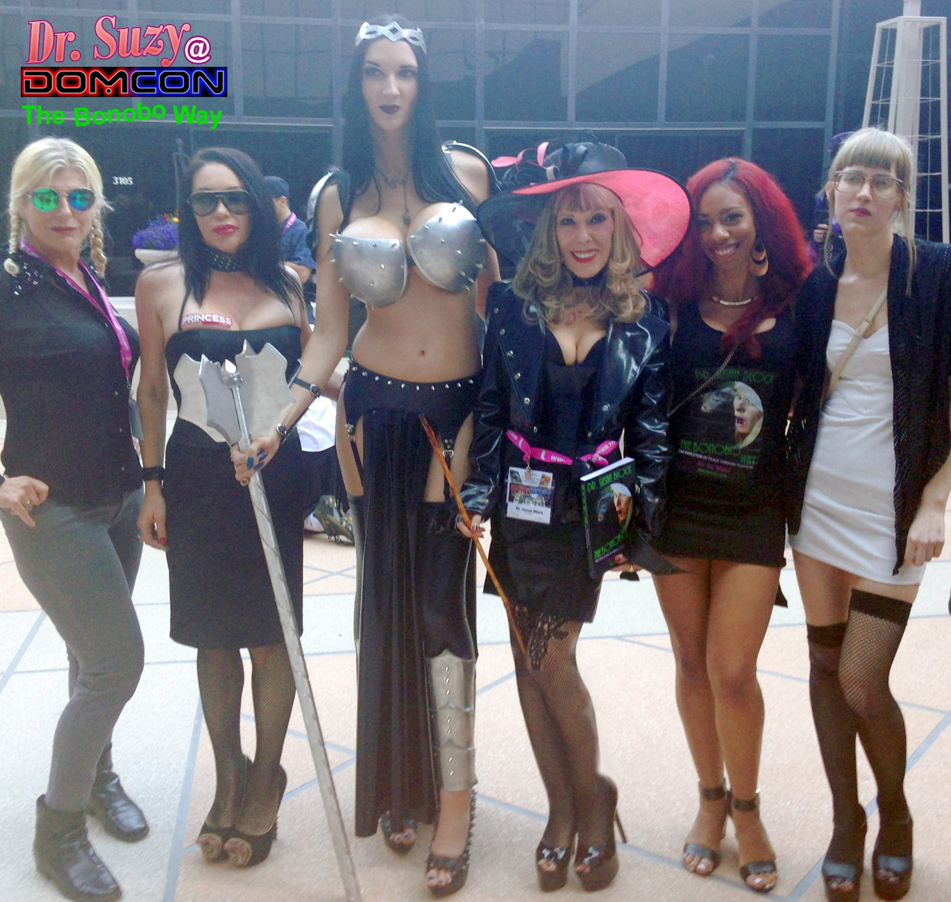 Goddess Fae & the Bonoboville 5, Photo: Unscene Abe