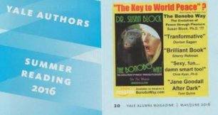 Summer Reading featuring The Bonobo Way | Yale Alumni Magazine