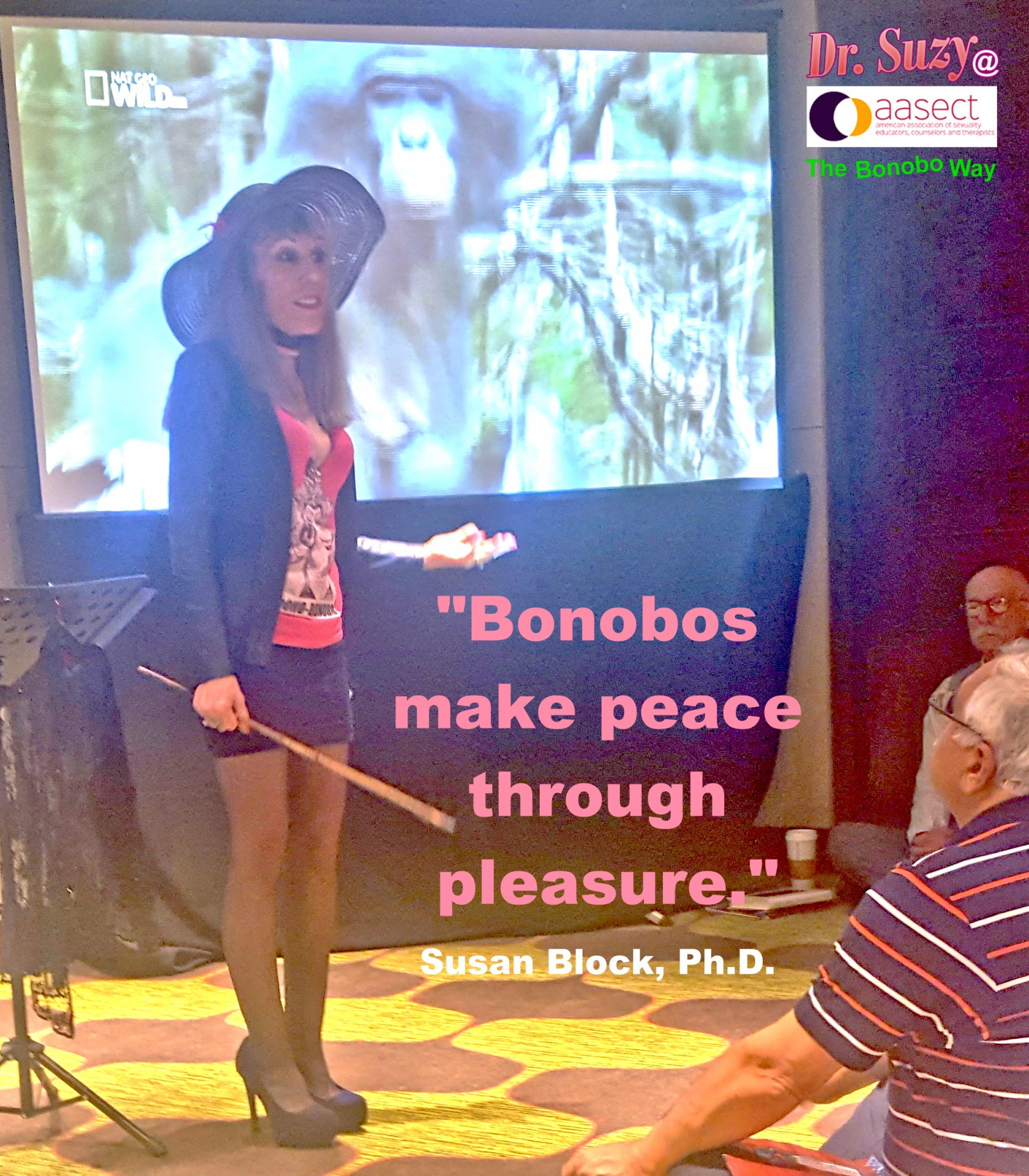 Peace through Pleasure. Photo: Eddie Fernandez