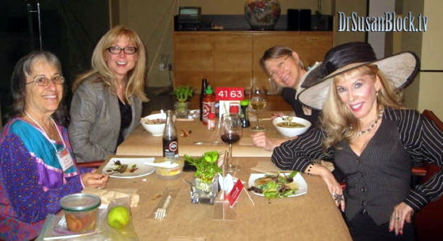 Sexual Power Lunch with Joani Blank, Nina Hartley and Carol Queen at SSSS