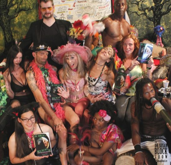 Pansensual Bacchanal in Bonoboville with Daniele Watts & Chef Be*Live. Photo: Teddy Boy French