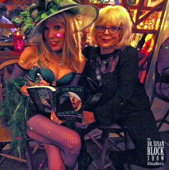 Renowned Artist and Mistress Sheree Rose visits Bonoboville. Photo: Abe