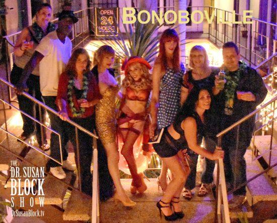 Bonoboville: OPEN 24 HOURS. Photo: Anthony Ortega