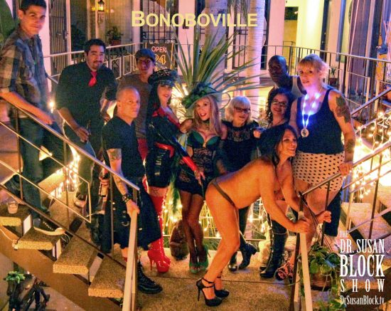 Kink Month continues in Bonobioville. Photo: Abe