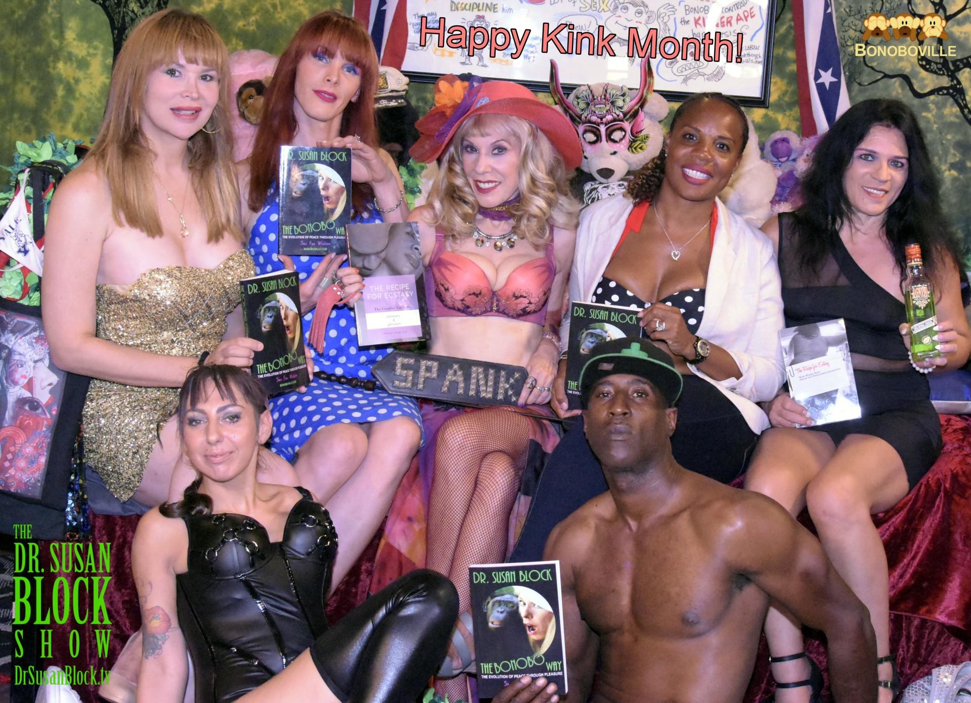 Kink Month Kick-Off 2016 on DrSuzy.Tv