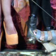 Subtly kinky Footwear